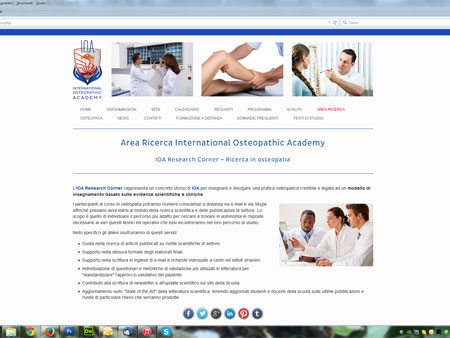 INTERNATIONAL OSTEOPATHIC ACADEMY - Scuola di Osteopatia