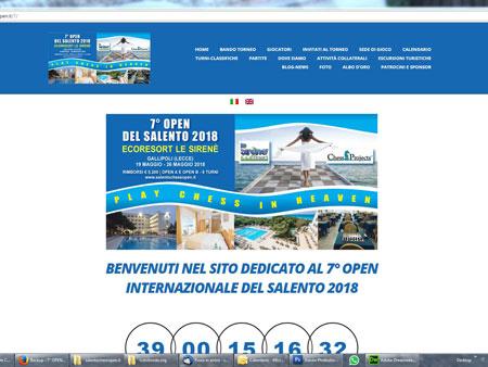 Open Internazionale del Salento d'Inverno 2018 Ecoresort Le Sirenè