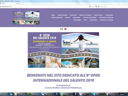 8° OPEN INTERNAZIONALE DEL SALENTO 2019